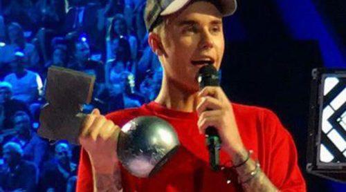 Justin Bieber arrasa en los MTV EMA 2015 como ganador de cinco de los seis premios a los que optaba