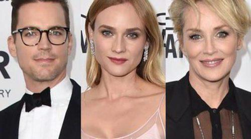 Matt Bomer, Diane Kruger, Sharon Stone y Sarah Hyland sacan su lado más solidario en la Gala amfAR