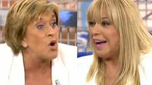 Bárbara Rey y Chelo García Cortés tienen un duro enfrentamiento en su cara a cara en el 'Deluxe'