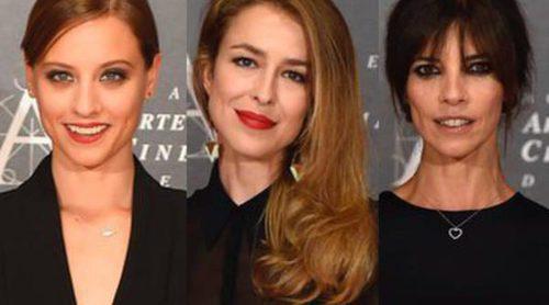 Michelle Jenner, Maribel Verdú y Silvia Abascal apoyan a Aitana Sánchez Gijón y Juan Diego en su gran noche