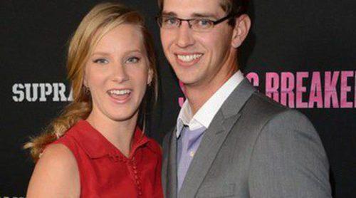 Heather Morris desvela el sexo del bebé que espera junto a su marido Taylor Hubbell