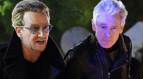 U2 visita la sala Bataclán para rendir homenaje a las víctimas de los atentados de París