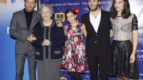 Irene Visedo y Pablo Rivero protagonizan el preestreno de 'Cuéntame cómo pasó' en el Festival MiM series