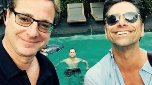 Bob Saget y John Stamos de 'Padres Forzosos' felicitan a Mary-Kate Olsen y Olivier Sarkozy por su boda