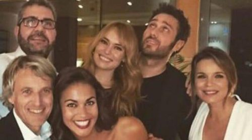 Patricia Conde, Lara Álvarez y Marta Torné, invitadas a la estelar cena de empresa de Mediaset