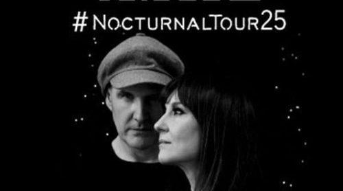 Amaral anuncia una gira de 25 conciertos por España en 2016 con su 'Nocturnal Tour'