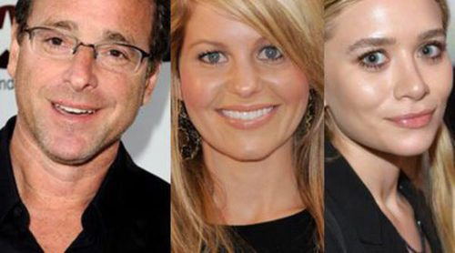Bob Saget se reúne con sus dos hijas de 'Padres Forzosos': Ashley Olsen y Candace Cameron