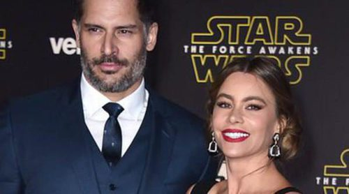 Sofía Vergara y Joe Manganiello reaparecen en el estreno mundial de 'Star Wars' tras su espectacular boda