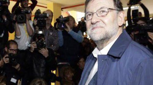 Mariano Rajoy, Pedro Sánchez, Albert Rivera  y Pablo Iglesias acuden a su cita con las urnas