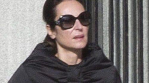 Ana Milán, triste y desmejorada en sus primeras imágenes tras separarse de Fernando Guillén Cuervo