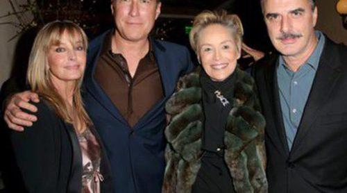 Los actores de 'Sexo en Nueva York', Chris Noth y John Corbett, se reencuentran sin Sarah Jessica Parker