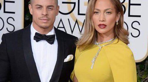 Jennifer Lopez y Casper Smart y Channing Tatum y Jenna Dewan: las parejas de los Globos de Oro 2016