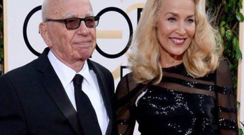 Rupert Murdoch y Jerry Hall anuncian su boda tras medio año de relación