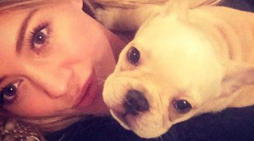 Hilary Duff, devastada por la muerte de su perro Beau: