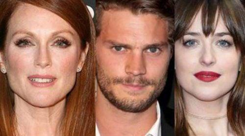 Julianne Moore, Jamie Dornan y Dakota Johnson, entre los nominados a lo peor del cine en los Premios Razzies 2016