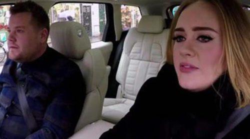Adele lo da todo cantando a Nicki Minaj y las Spice Girls en el coche