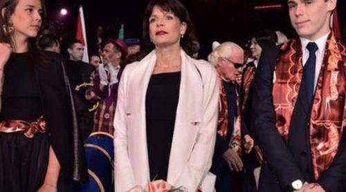 Estefanía de Mónaco disfruta de un feliz día de circo en Monte-Carlo junto a sus hijos Pauline, Louis y Camille