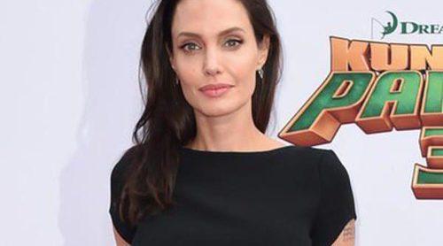 Angelina Jolie y Kate Hudson se divierten con sus hijos en el estreno de 'Kung Fu Panda 3' en Los Angeles