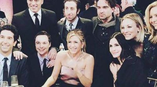 Primera imagen del reencuentro de 'Friends' sin Matthew Perry en el especial de James Burrows
