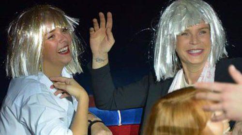 La Princesa Estefanía de Mónaco celebra su 51 cumpleaños con una peluca blanca y rodeada de sus hijos en el circo