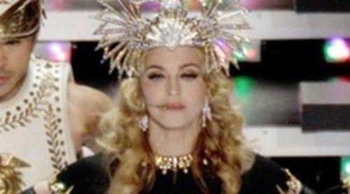 Madonna reina en la Super Bowl 2012 junto a LMFAO, Nicki Minaj y M.I.A. en Indianapolis