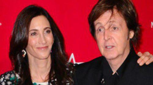Paul McCartney, nombrado 'Persona del Año' arropado por su mujer Nancy Shevell, Katy Perry y Alicia Keys