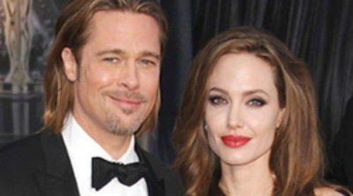 George Clooney y Stacy Keibler, Angelina Jolie y Brad Pitt y los Príncipes de Mónaco, las parejas de los Oscar 2012
