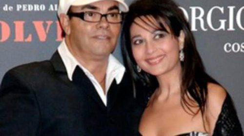 Eduardo Cruz y Carmen Moreno, padres de una niña llamada Salma