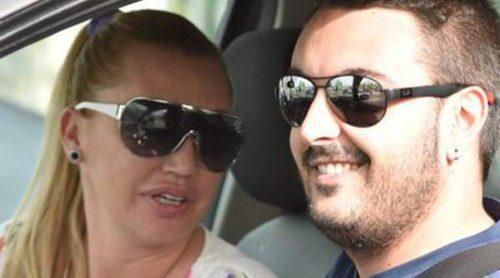 El beso con el que Belén Esteban celebró San Valentín 2016 con su novio Miguel