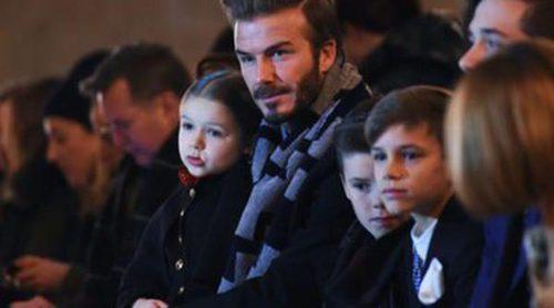 Harper Seven y los chicos Beckham, el mejor apoyo de Victoria Beckham en la Nueva York Fashion Week
