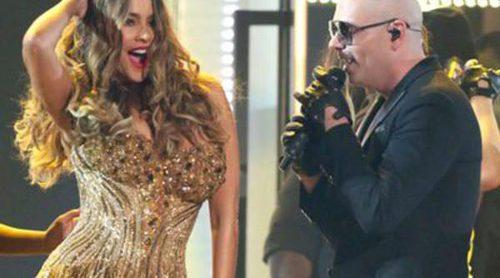 El baile de Sofía Vergara con Pitbull o la aparición de Beyoncé: Momentazos de los Premios Grammy 2016
