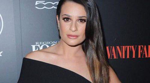 Lea Michele elige la fiesta de Vanity Fair para reaparecer tras su ruptura con Matthew Paetz