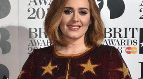 Adele gana cuatro Premios Brit 2016 y se convierte en la auténtica protagonista de la noche