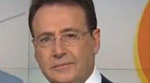 Matías Prats vuelve al trabajo con gafas: 'Lo he visto bien, aunque la actualidad política un poquito borrosa'