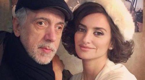 Penélope Cruz publica una imagen junto a Fernando Trueba en el rodaje de 'La reina de España'