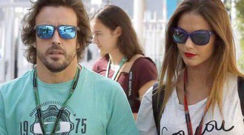Los amores fracasados de Fernando Alonso y Lara Álvarez: de Raquel del Rosario y Dasha Kapustina a Sergio Ramos