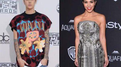Kourtney Kardashian se divierte en un concierto de Justin Bieber tras los rumores que los relacionaban