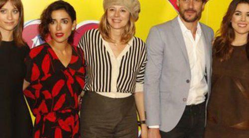 Adriana Ugarte y Michelle Jenner brillan en la presentación de 'Julieta' en Barcelona sin la compañía de Pedro Almodóvar