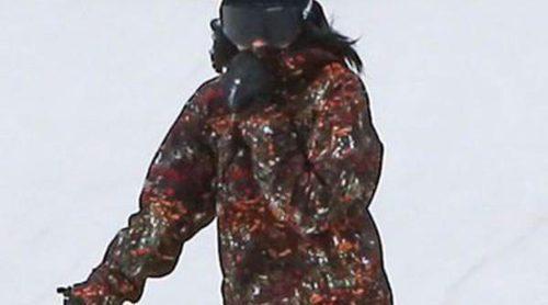 Las hermanas Kardashian-Jenner disfrutan de unos días en la nieve en familia, pero sin su hermano Rob