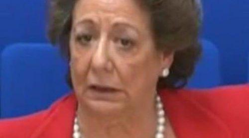 Rita Barberá declara en el Caso Nóos: 'Me reuní con Urdangarín porque me dijo que Nóos era sin ánimo de lucro y me lo sugirió Samaranch'