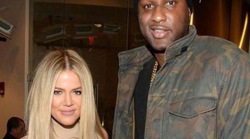 Lamar Odom supera los trámites de divorcio con Kloe Kardashian apoyando a Kobe Bryant en su despedida