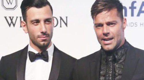 Ricky Martin presenta a su novio Jwan Yosef sobre la alfombra roja