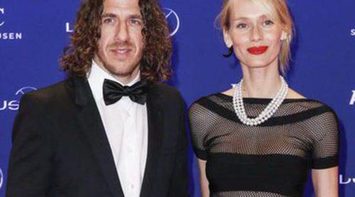Carles Puyol y Vanesa Lorenzo, protagonistas de los Premios Laureus 2016 junto a Raúl y Figo