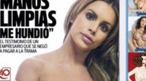 Veronica Graf se desnuda en la portada de Interviú