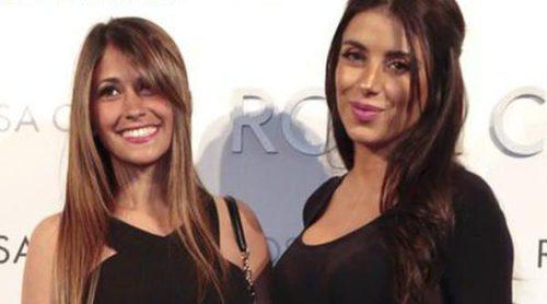 Melissa Jiménez, Ana Fernández y Antonella Roccuzzo buscan vestido de novia en el desfile de Rosa Clará