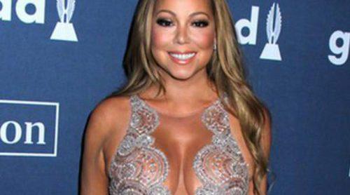 Mariah Carey homenajada en los GLAAD Media Awards 2016 junto a Jennifer Lawrence y Caitlyn Jenner