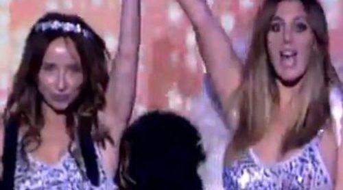 María Patiño y Anabel Pantoja deslumbran desfilando como ángeles de 'Sálvame Fashion Secret'