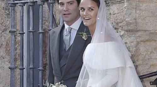 El Rey Juan Carlos asiste a la boda de Alejandro Santo Domingo y Charlotte Wellesley en Granada