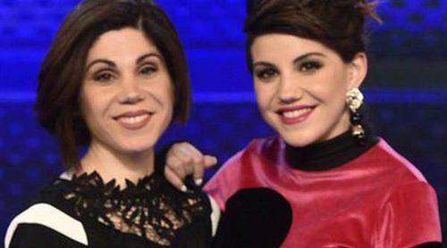 Angy e Irene reciben por sorpresa la visita de su madre Adoración en el plató de 'Levántate All Stars'