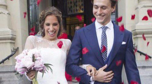 Alejandro Yuste, hijo de Josema Yuste, se casa con Cayetana Lamela en Madrid